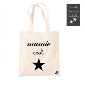 Tote Bag Mamie cool