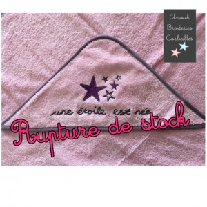 "Cape de bain Star rose ""Une..."