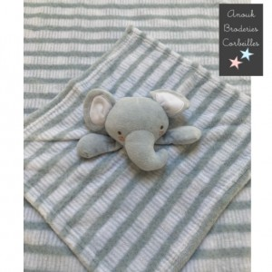 Doudou Elephant et plaid...